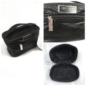 NWT Jimmy Choo Parfums Cosmetic Bag